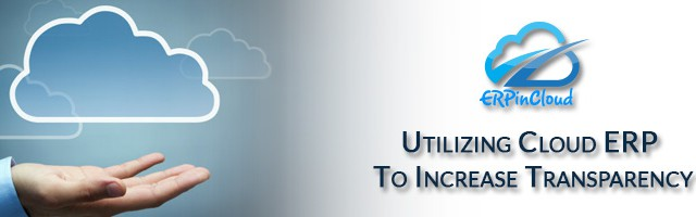 Cloud ERP Utilizing Cloud ERP to increase transparency