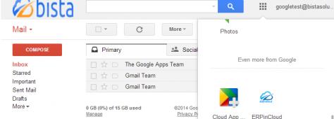 Cloud ERP Go Google with Cloud ERP