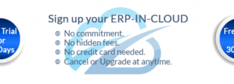 Cloud ERP Free Trial of Cloud ERP for 30 Days