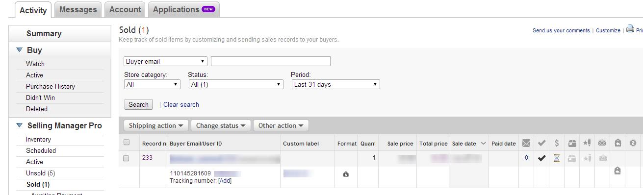 Cloud ERP Amazon FBA
