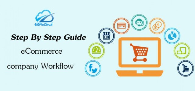 Cloud ERP Workflow of an eCommerce company in Cloud ERP