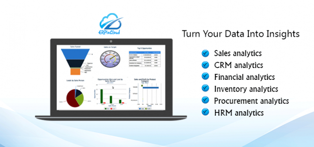 Cloud ERP Track Organization Performance  with Cloud ERP