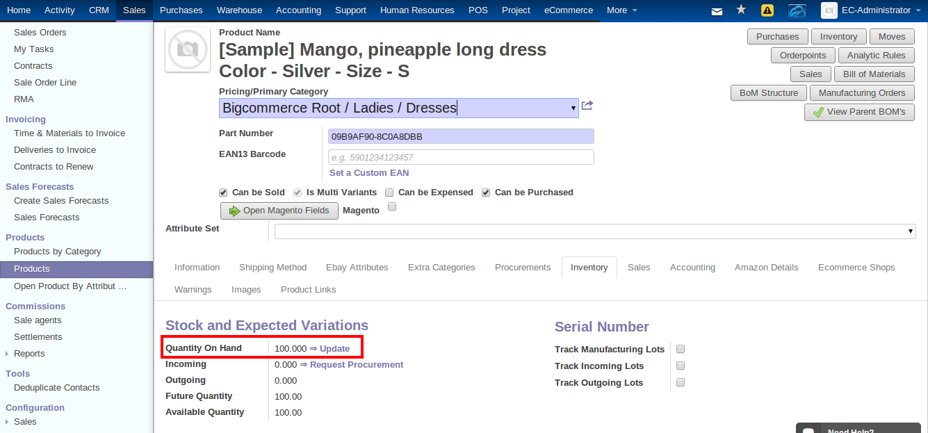 BigCommerce Integration with ERP